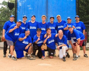 Congregation Beth Judea Men's Club Wins 3 Playoff games and takes the first League Championship